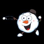 The big Freeze snowball throw