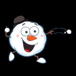 The big Freeze snowball throw2